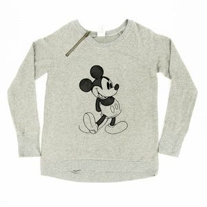 Disney Sweater Mickey Mouse Embroidered Size Large
